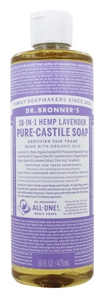 Dr. Bronners - Magic Pure-Castile Soap Organic Lavender - 16 oz.
