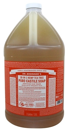 Dr. Bronners - Magic Pure-Castile Soap Organic Tea Tree - 128 oz. - 1 Gallon