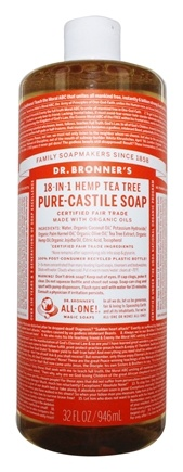 Dr. Bronners - Magic Pure-Castile Soap Organic Tea Tree - 32 oz.