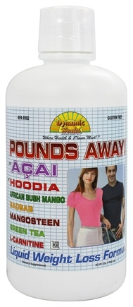 DROPPED: Dynamic Health - Pounds Away Liquid Weight Loss Program - 32 oz.