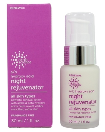 Earth Science - A/B Hydroxy Acid Night Rejuvenator - 1 oz.