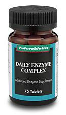 DROPPED: Futurebiotics - Daily Enzyme Complex - 75 Tablets