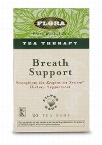 DROPPED: Flora - Breath Support Tea Therapy - 20 Tea Bags