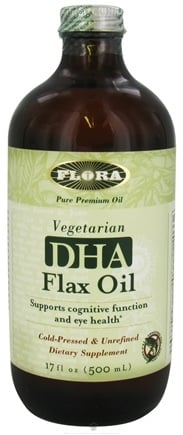 DROPPED: Flora - DHA Flax Oil - 17 oz. CLEARANCED PRICED