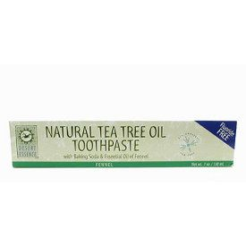 DROPPED: Desert Essence - Tea Tree Oil Toothpaste Fennel - 3 oz.