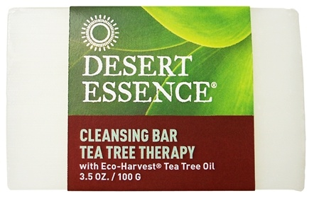 DROPPED: Desert Essence - Tea Tree Therapy Cleansing Bar Soap - 3.5 oz. CLEARANCE PRICED