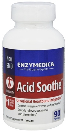 Enzymedica - Acid Soothe - 90 Capsules