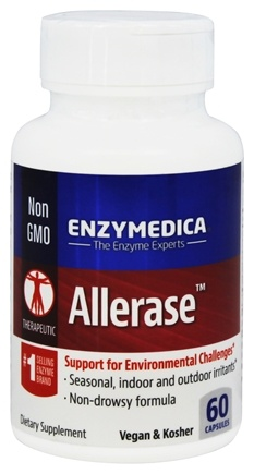 DROPPED: Enzymedica - Allerase - 60 Capsules