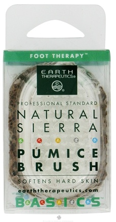 DROPPED: Earth Therapeutics - Natural Sierra Pumice Brush - CLEARANCE PRICED