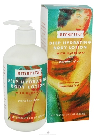 DROPPED: Emerita - Deep Hydrating Body Lotion With H2OPTIMA - 8 oz. CLEARANCE PRICED
