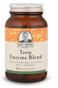 DROPPED: Flora - Udo's Choice Teen Enzyme Blend - 60 Capsules