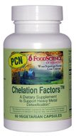 DROPPED: FoodScience of Vermont - Chelation Factors - 60 Capsules