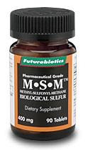 DROPPED: Futurebiotics - M-S-M (Biological Sulfur) - 90 Tablets