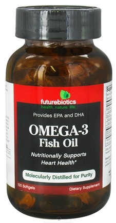DROPPED: Futurebiotics - Omega-3 Fish Oil - 100 Softgels