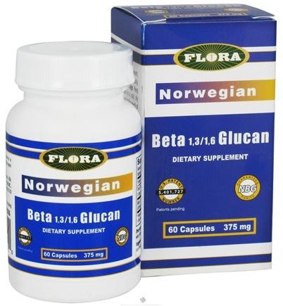DROPPED: Flora - Norwegian Beta Glucan - 60 Capsules