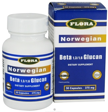 DROPPED: Flora - Norwegian Beta Glucan - 30 Capsules CLEARANCE PRICED