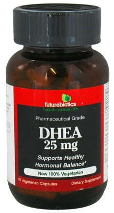 DROPPED: Futurebiotics - DHEA 25 mg. - 75 Vegetarian Capsules