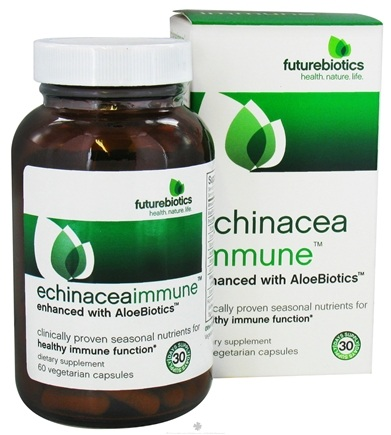 DROPPED: Futurebiotics - Echinacea Immune - 60 Vegetarian Capsules CLEARANCE PRICED