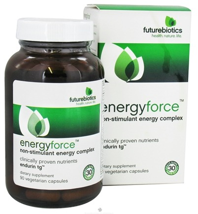 DROPPED: Futurebiotics - Energy Force Non-Stimulant Energy Complex - 90 Vegetarian Capsules CLEARANCE PRICED