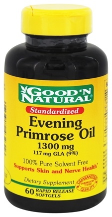 Good 'N Natural - Evening Primrose Oil 1300 mg. - 60 Softgels