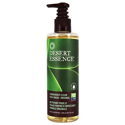 Desert Essence - Thoroughly Clean Face Wash with Tea Tree Oil and Awaphuhi - 8.5 oz. LUCKY PRICE