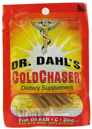 DROPPED: Dr. Dahl's - ColdChaser Dietary Supplement - 1 Packet(s)