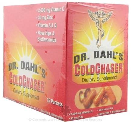 DROPPED: Dr. Dahl's - ColdChaser Dietary Supplement - 15 Packet(s)