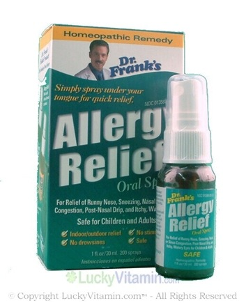DROPPED: Dr. Franks - Allergy Relief - 1 oz.
