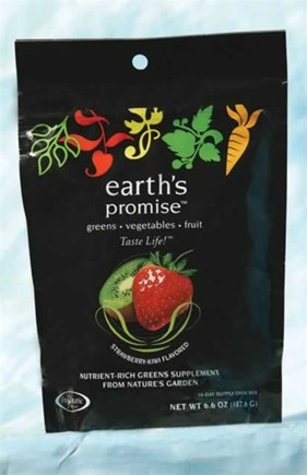 DROPPED: Enzymatic Therapy - Earth's Promise Drink Mix Travel Size Strawberry Kiwi Flavor - 1 Packet(s)