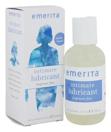 Emerita - Intimate Lubricant Fragrance Free - 2 oz.