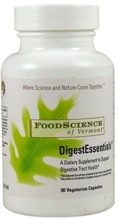DROPPED: FoodScience of Vermont - DigestEssentials - 90 Vegetarian Capsules