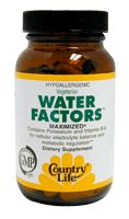 DROPPED: Country Life - Diuretic Factors Maximized Rapid Release - 60 Tablets