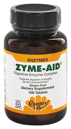 Country Life - Zyme-Aid Digestive Enzyme Complex - 100 Tablets LUCKY DEAL