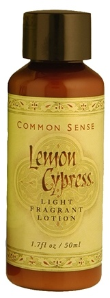 DROPPED: Common Sense Farm - Lemon Cypress Lotion - 1.7 oz.