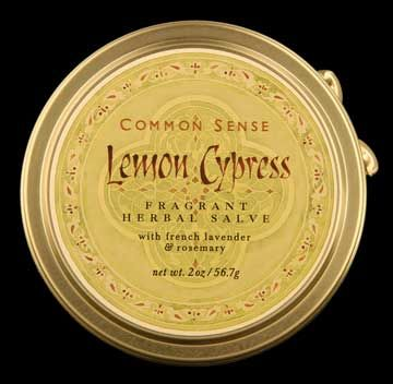 DROPPED: Common Sense Farm - Lemon Cypress Salve - 1.75 oz.