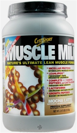 DROPPED: Cytosport - Muscle Milk Ultimate Lean Muscle Formula Mocha Latte - 2.48 lbs. CLEARANCE PRICED