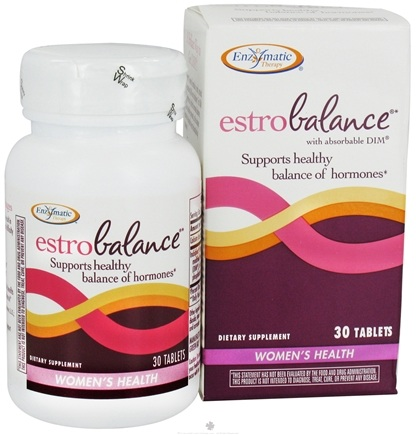DROPPED: Enzymatic Therapy - Estrobalance with Absorbable DIM - 30 Tablets CLEARANCE PRICED