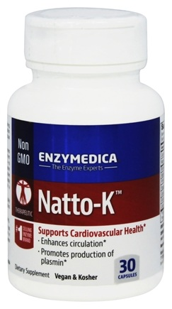 DROPPED: Enzymedica - Natto-K - 30 Capsules