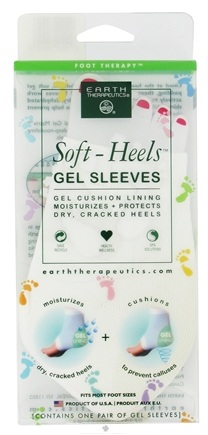 DROPPED: Earth Therapeutics - Soft Heels Gel Sleeves