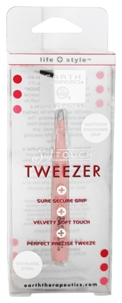 DROPPED: Earth Therapeutics - Softtouch Tweezer Pink