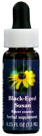 DROPPED: Flower Essence Services - Black-Eyed Susan Flower Essence - 0.25 oz. CLEARANCE PRICED