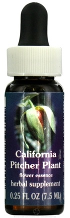DROPPED: Flower Essence Services - California Pitcher Plant Flower Essence - 0.25 oz. CLEARANCE PRICED