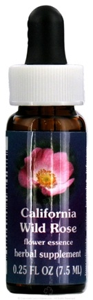 DROPPED: Flower Essence Services - California Wild Rose Flower Essence - 0.25 oz. CLEARANCE PRICED