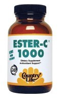 DROPPED: Country Life - Ester-C 1000 mg. - 120 Capsules