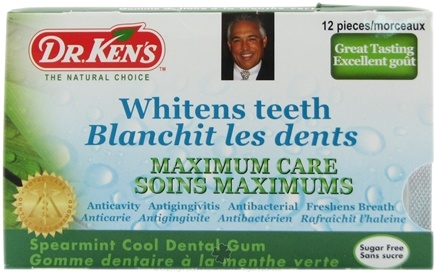 DROPPED: Dr. Ken's - Dental Gum Maximum Care Spearmint - 12 Piece(s) CLEARANCE PRICED
