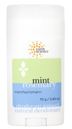 Earth Science - Natural Deodorant Mint Rosemary - 2.45 oz.