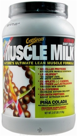DROPPED: Cytosport - Muscle Milk Ultimate Lean Muscle Formula Pina Colada - 2.48 lbs.