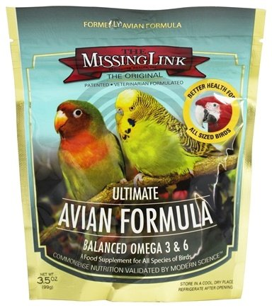 DROPPED: Designing Health - The Missing Link Avian Formula Omega 3 Superfood - 3.5 oz.