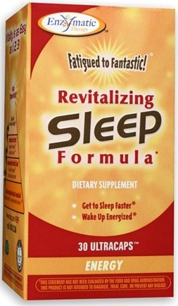 DROPPED: Enzymatic Therapy - Revitalizing Sleep Formula contains Wild Lettuce Extract - 30 Ultracap(s) CLEARANCED PRICED