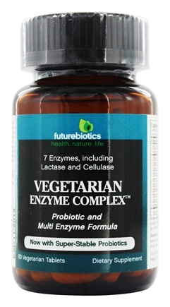 Futurebiotics - Vegetarian Enzyme Complex - 90 Tablets